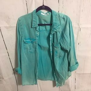 Maurices Button Up Shirt Size 2